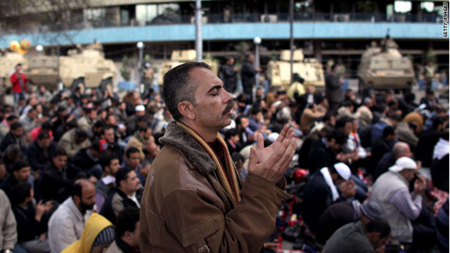 Friday prayers helped feed Egyptian revolution