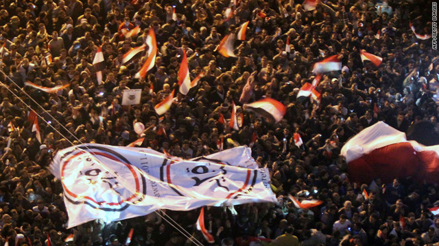 &#039;Egypt is free&#039; after Mubarak quits; more demonstrations planned for Saturday