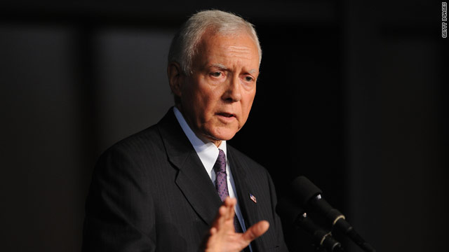 Hatch faces conservative boos