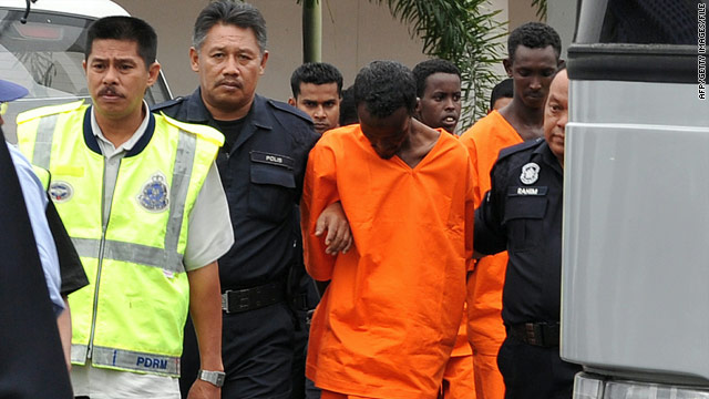 3 teenage boys among 7 Somalis facing death in Malaysia piracy case