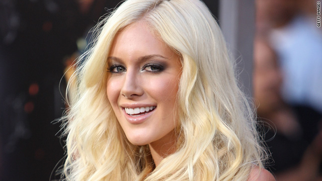 Heidi Montag&#039;s quite confused
