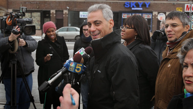 Can Emanuel avoid runoff election?