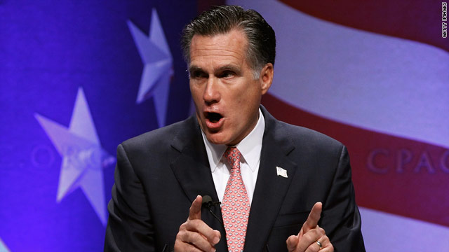 Criticizing Obama, Romney vows a different approach if he runs for president