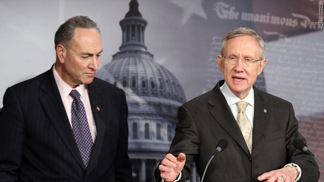 Senate Democrats again warn of government shutdown