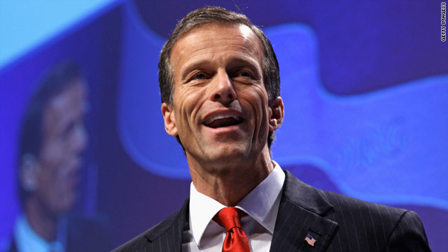 GOP Sen. Thune endorses Romney in Iowa