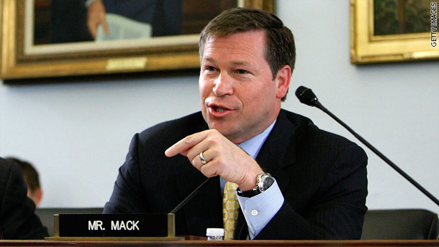 Poll: Mack ahead in Florida GOP Senate primary