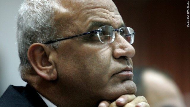 Chief Palestinian negotiator resigns