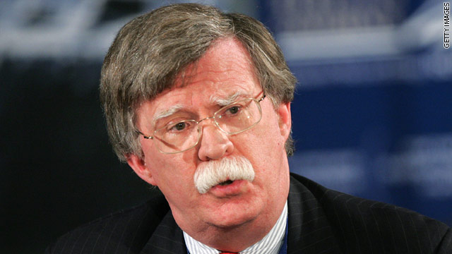 Bolton: Obama administration 'plain wrong' on Egypt