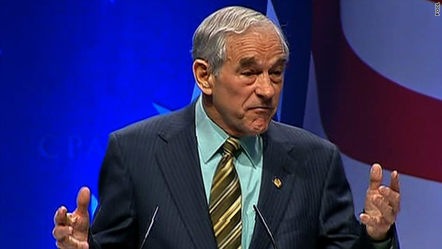 Rep. Ron Paul wins CPAC straw poll
