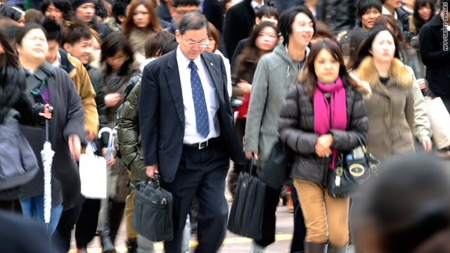 Japan: Economy slips to third in world, behind U.S. and China
