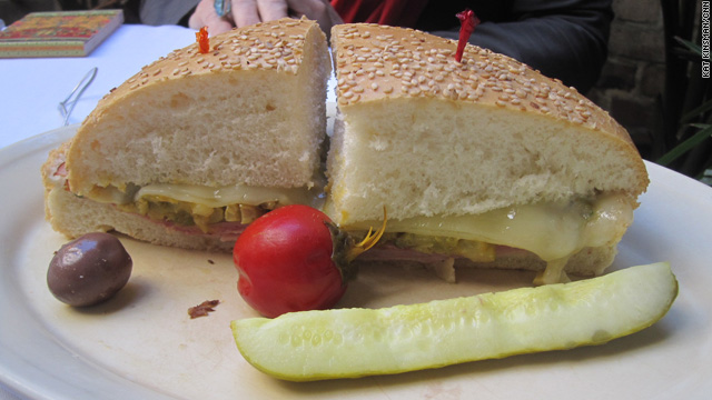 Lick the Screen: New Orleans – Muffuletta