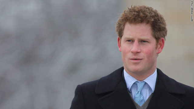 Prince Harry to be William's best man