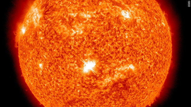 Sun has biggest solar flare of the year