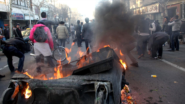 Report: 1 shot dead during Iran protests