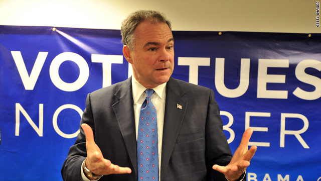 Kaine to discuss possible Senate bid with Obama
