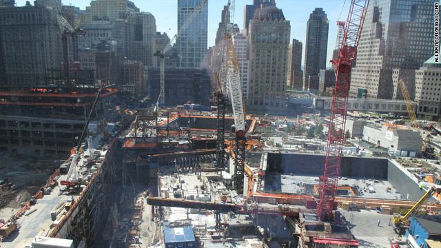 Port Authority sued over still-unbuilt church near ground zero