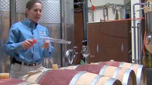 Winery thrives in most surprising place