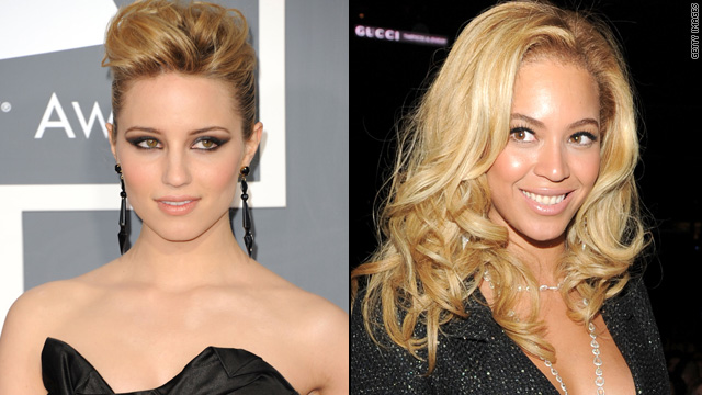 Dianna Agron on taking a bathroom break with Beyonc