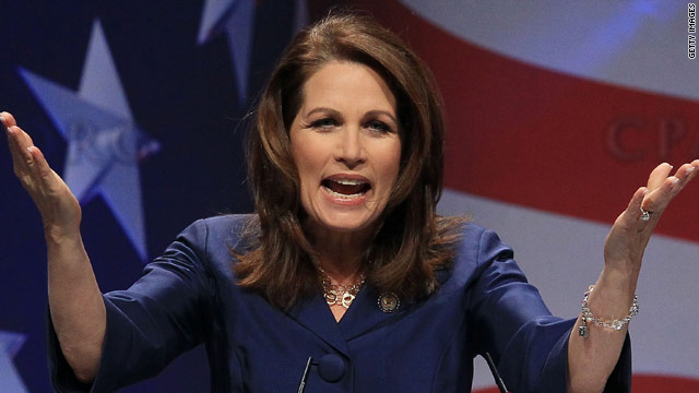 Bachmann targets Michelle Obama