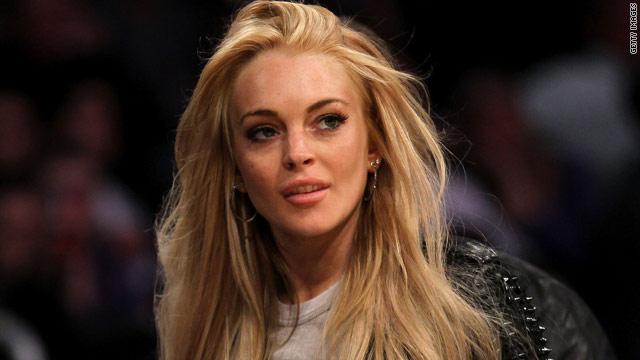 Lindsay Lohan's not presenting 'Letterman' list