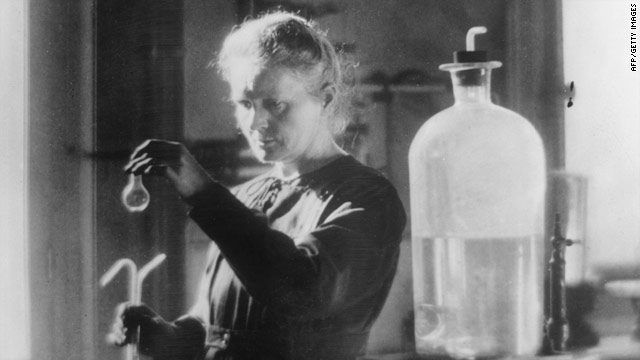 Celebrating Madame Curie's discoveries