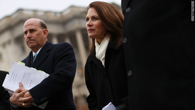 Bachmann heads to New Hampshire in March