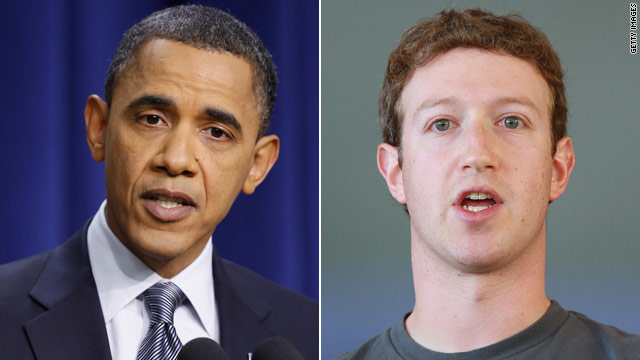 Obama to meet with Zuckerberg