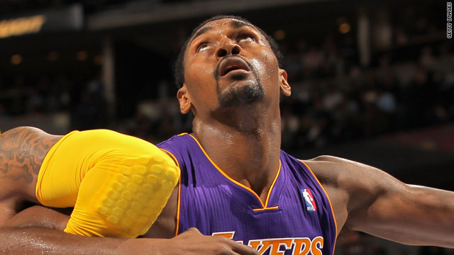 Mr. Artest comes to Washington