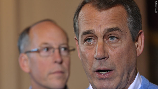 Boehner's 'read my lips' pledge, government shutdown battle looms