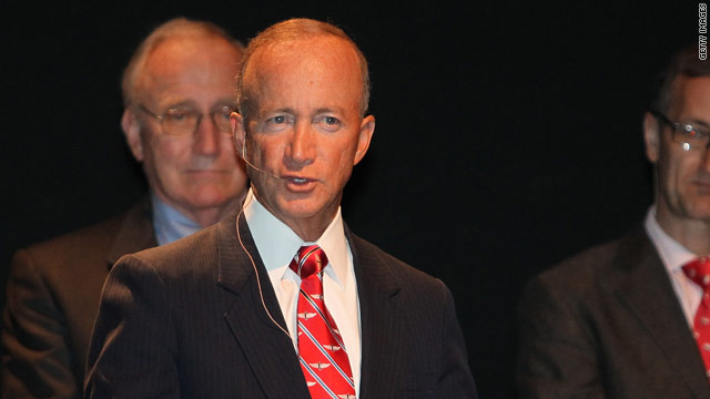 Gov. Daniels undergoes rotator cuff surgery