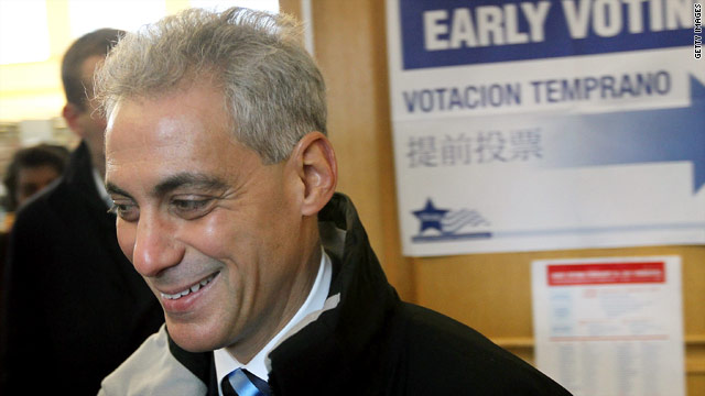Obamas vote for Rahm?