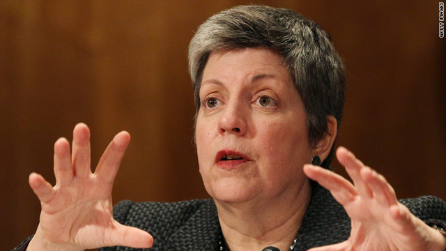 Napolitano leaving Obama Cabinet
