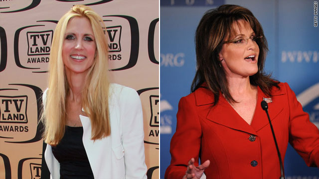 Coulter 'insanely jealous' of Sarah Palin