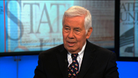 Lugar on the budget 'blame game'