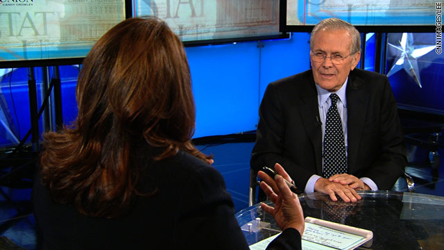 Rumsfeld: WMD issue was 'the big one' in Iraq invasion