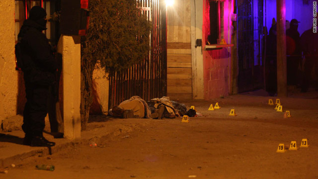 Fifty-three dead in 3 days in Ciudad Juarez, official says