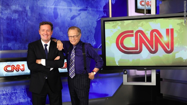 Breaking: CNN's Piers Morgan interviews CNN legend Larry King... live this Wednesday