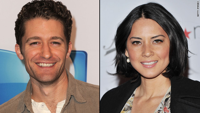 Is Matthew Morrison dating Olivia Munn?