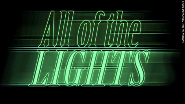 Kanye and Hype Williams turn on 'All of the Lights'
