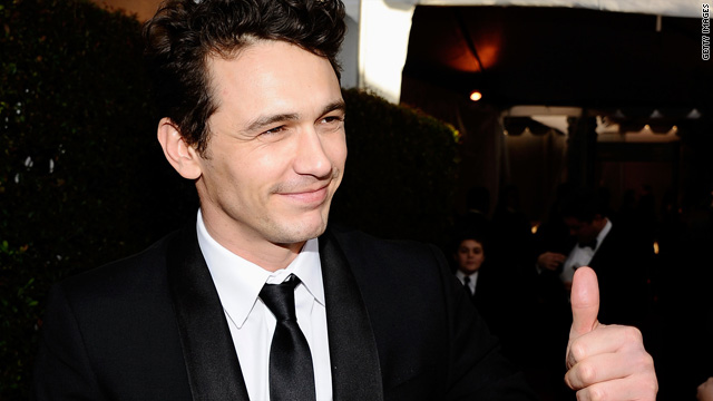 James Franco joins Twitter and Facebook