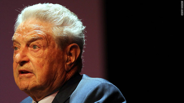 Soros: Republicans control the agenda