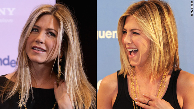 Jennifer Aniston shows off new 'do