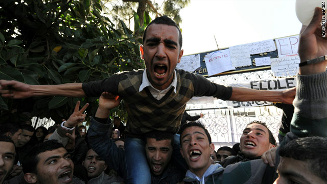 N. Africa, Mideast protests: Libya&#039;s interior minister quits