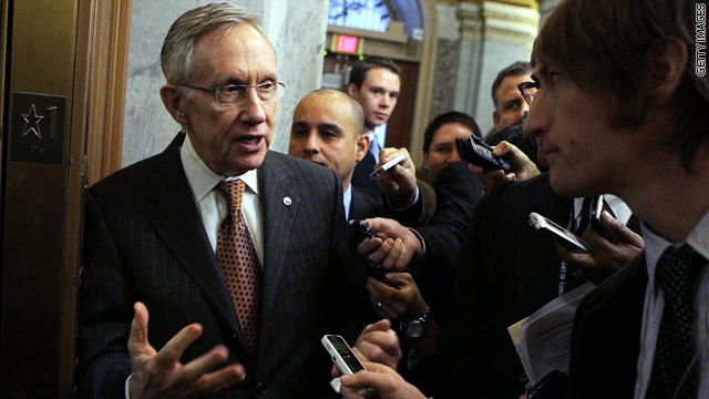 Reid proposes 30-day spending deal to avoid government shutdown
