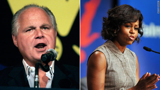 Limbaugh vs. Mrs. Obama part two