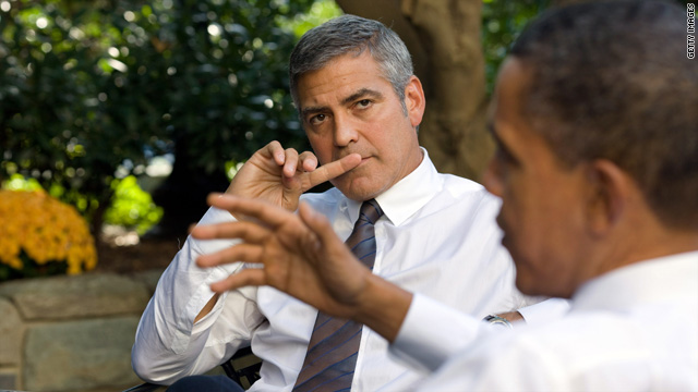 Clooney: I've done too many drugs for politics