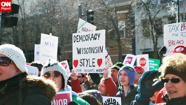 Ohio, Wisconsin, Indiana protesters: 'Kill the bill!'