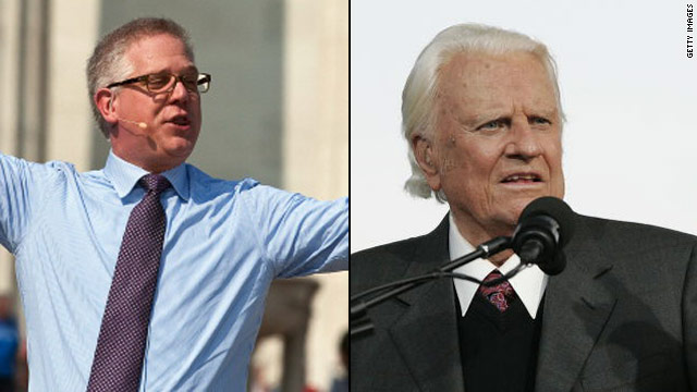 Glenn Beck meets with the Rev. Billy Graham