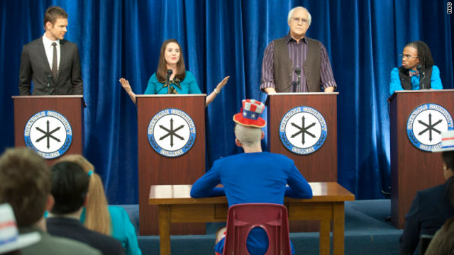 'Community' gets political