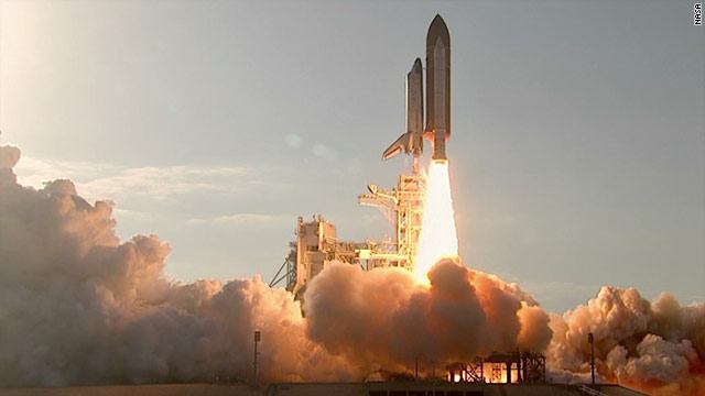 Shuttle Discovery begins its final mission